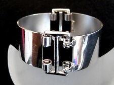 800er Silber Armreif  Armband Design 64 Gramm / RAR / aus den 70er/80er Jahre