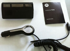 New Motorola T215 Bluetooth Portable Car Noise Cancel Speakerphone Black 89350N