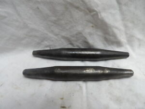 """Pair of 3/4"""" X 6-1/2"""" Barrel Style Ironworker Bull Pins"""