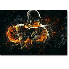 Mortal Kombat X Hot Fighting Game Silk Poster 13x20 24x36 inch 003