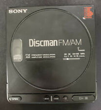 Vintage Sony Discman D-T4 FM/AM CD Player - Tested and Working