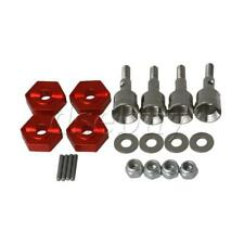4pcs Aluminum Alloy Red Upgrade Parts RC1:18 Wheel Hex Mount for WL A959 A979