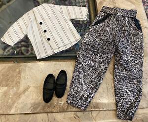 Vintage Ken Formal Wear Outfit Tuxedo Set-  Vest Shirt Pants Shoes MINT RARE