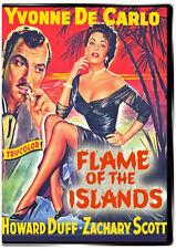 Flame of the Islands 1956 DVD Yvonne De Carlo, Howard Duff, Barbara O'Neil
