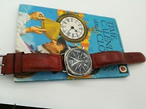 VINTAGE HIGH QUALITY GENTS CHUNKY CHRONOGRAPH AUTOMATIC WATCH.
