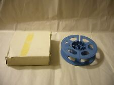Vintage 16mm Blue Film Reel with Storage Box--holds 50 feet of film, 3  Inch