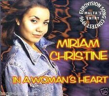 Miriam Christine - In A Woman's Heart ♫ Maxi-Single-CD von 1996 ♫ FAST WIE NEU ♫
