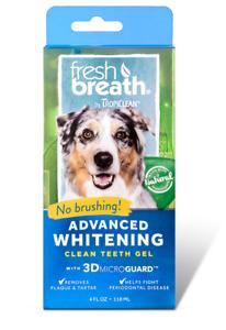 TropiClean Advanced Whitening Clean Teeth Oral Care Gel 118ml Dental Hygiene