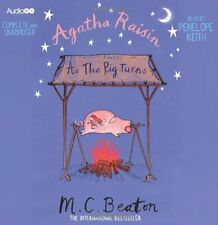 AGATHA RAISIN - AS THE PIG TURNS - M C BEATON -  6 CD AUDIO BOOK - NEW/UNSEALED