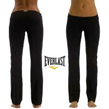 Pantalone da donna EVERLAST sports gamba dritta leggings elasticizzato JULY nero