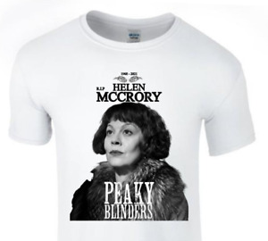 RIP Helen McCrory Aunt Polly Peaky Blinders T-shirt Polly Gray. Aunt Polly