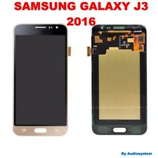 GLS: DISPLAY LCD+TOUCH SCREEN per SAMSUNG GALAXY J3 2016 SM-J320FN J320 ORO GOLD