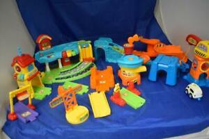 V-Tech Toot Toots Toys Bundle
