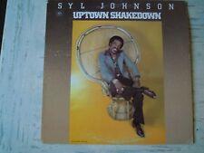 Syl Johnson - UPTOWN SHAKEDOWN (Lp) Press USA 1979 Vinyl MINT-