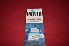 Ford 2000 3000 4000 5000 6000 Commander Dextra Tractor Dealers Brochure YABE6 1