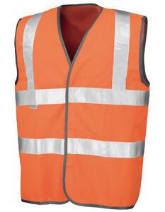 Safe-Guard Safety High Vis Vest Warnschutzweste Sicherheitsweste