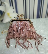 Woman's shoulder Bag handmade Net yarn bag,high-grade bag