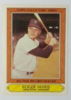 1985 85 Topps Collectors' Series All-Time Record Holder Roger Maris #24, HOF
