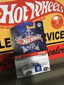 Hot Wheels Cop Rods #8 83 Silverado Chevy Mint