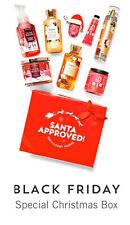 BATH & BODY WORKS 2020 VIP BOX 9 SANTA APPROVES CHRISTMAS GIFTS NEW