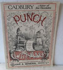VINTAGE PUNCH MAGAZINE APRIL 30, 1930  LOTS OF ADS INCLUDING GOLF