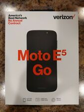 Motorola Moto E5 Go - 16Gb - Black (Verizon) (Single Sim)