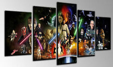 Cuadro Moderno Fotografico base madera, 145 x 62, Star Wars, Darth Vader
