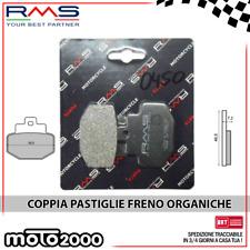 COPPIA PASTIGLIE FRENO POSTERIORI ORGANICHE PER DERBI GP1 250 2006 - 2007 PT1A1A