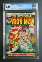 Iron Man 54  First Appearance Moondragon  CGC 9.0  White Pages