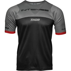 Thor Racing 2021 Intense MTB Short-Sleeve Jersey Black/Gray All Sizes