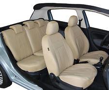 AUDI A6 C5 Maßgefertigte Kunstleder Sitzbezüge Schonbezüge Autositzbezü in BEIGE