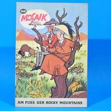 Mosaik 168 Digedags Hannes Hegen Originalheft   DDR   Sammlung original MZ 12