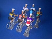 Lot de 6 cyclistes equipes cyclo cross 2017-2018 - Veldcross Wielrenners