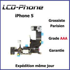 iPhone 5 - Connecteur de charge + Micro + Prise Jack + Antenne GSM - Blanc