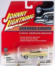 Johnny Lightning American Chrome White Lightning 1953 Buick Super Convertible
