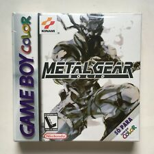 Metal Gear Solid Nintendo Game Boy Color Factory Sealed Brand New Very Rare READ