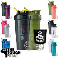 Blender Bottle 2-Pack Classic 28oz Shaker Cup SportMixer - NEW FULL COLORS