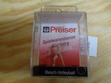 H0 Preiser 28064 Beach-Volleyball. SONDERMODELL. Figur. OVP