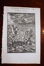 ✒ 1683 MANESSON MALLET Poissons mer océans bateaux tempête