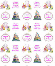 Personalised Gift Wrapping Paper PRINCESS STYLE Birthday Any Name!