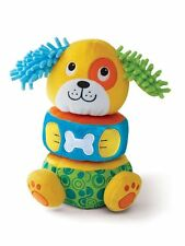 International Playthings E00372 Earlyears Lil' Puppy Stacker Baby Toy