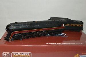 HO Broadway Limited Norfolk & Western Ry J 4-8-4 steam locomotive DCC SOUND