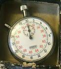 Vintage Sportex 7 Jewels Mechanical Wind Up Stopwatch - Excellent +! FAST SHIP!