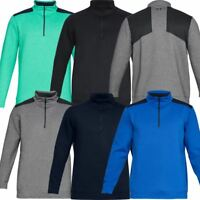 UNDER ARMOUR MENS UA STORM PLAYOFF 1/2 ZIP FLEECE GOLF SWEATER 50% OFF