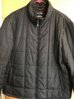Calvin Klein Men's XL Black Full Zip Long Sleeve 3 In 1 Puffer Winter Jacket
