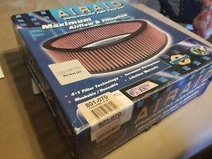 AIRAID Replacement Dry Air Filter For GMC/CHEVY L6 250 SYNTHAMAX 801-070