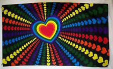 Rainbow Love Hearts Flag 3' X 5' Indoor Outdoor Multi Color Banner