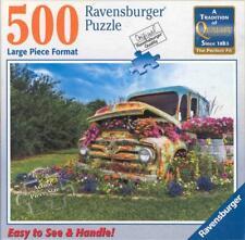 Michael Wheatley 500 Pc Ravensburger Jigsaw Puzzle Flower Truck