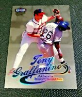 1999 Ultra Platinum Tony Graffanino 71P Atlanta Braves Baseball 6/99