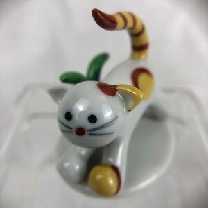 Rare Vintage Walter Bosse Metzler & Ortloff Art Deco #5076 Cat Ceramic Figurine